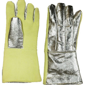 Safety Gloves 18″ Aluminized Kevlar