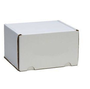 Temporary Cremains Container – Corrugated White
