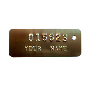 Cremation ID Tags -102C