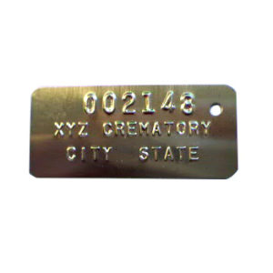 Cremation ID Tags – 105