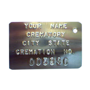 Cremation ID Tags – 101NP